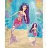 Mattel Papusa Mermaidia- Sirena mov