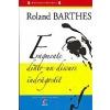 Roland Barthes Fragmente dintr-un discurs de indragostit