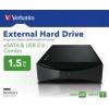 Verbatim  1.5 TB Hard Disk extern combo eSATA ºi USB 3.5''(47527)