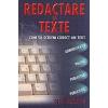 Olga Balanescu Redactare de texte. Cum sa scriem corect un text